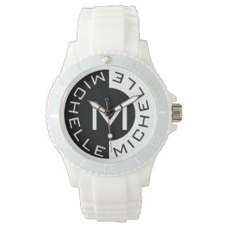 Two Tone Double Name-o Watch