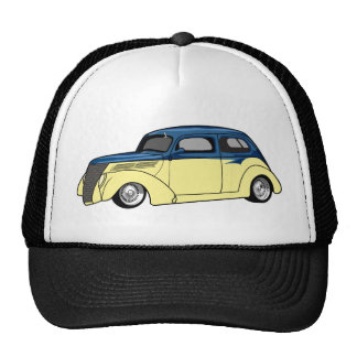 Two Tone Hot Rod Hats