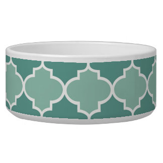 Two Tone Moroccan Pattern in Dark and Light Blue