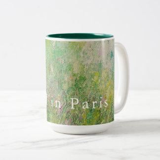 Two Tone Mug: April in Paris Two-Tone Coffee Mug