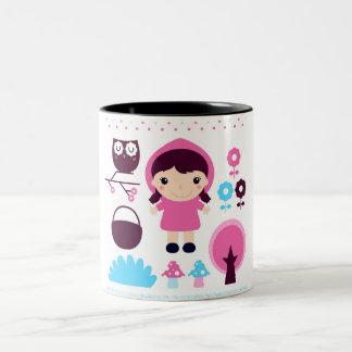 Two tone mug with Fairytale girl