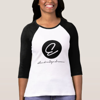 "Two-tone tee woman ""#ElectreSyndrome Signature """