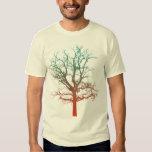 Two-Tone Tree T T-shirts