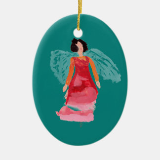 Two Toned Angel Ornament