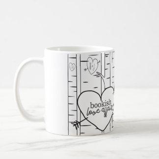 Two Toned Bookish Love Affair Coffee Mug