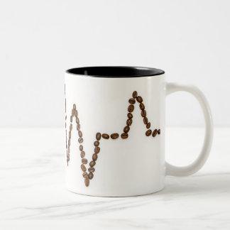 Two Toned Coffee is Life mug