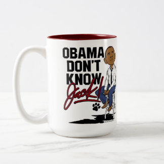 Two Toned Double Sided Coffee Mug