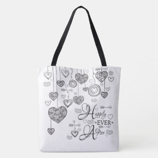 Two Toned Happily Ever After Tote Bag
