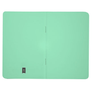 Two-Toned Mint Green & White Pocket Journal