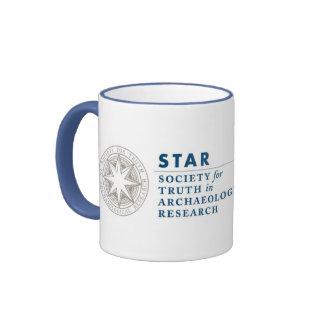 Two Tones Coffee Cup Ringer Mug