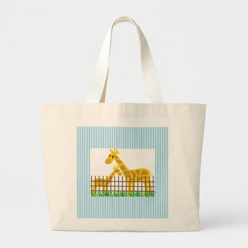 Two (Too) Cute Giraffes Bags