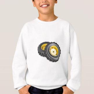 Two tractor wheels sweatshirt