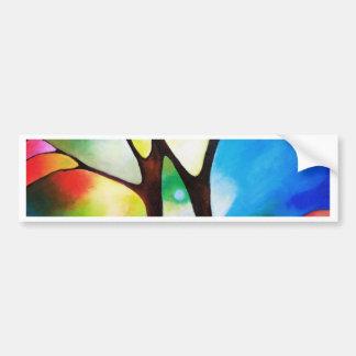 Two Trees Bumper Sticker