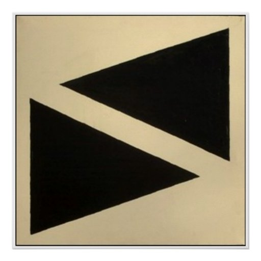 Two Triangles Posters