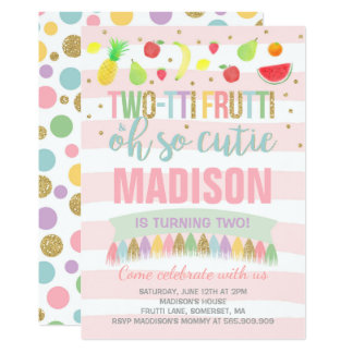 2nd Birthday Invitations Announcements Zazzlecomau