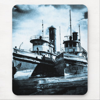 Two Tugs Mouse Pad