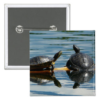 Two Turtles at the Turtle Bar Pin