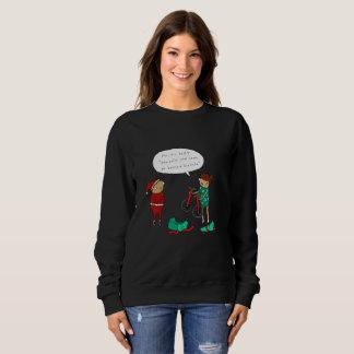 Two Unicycles | Funny Comic Christmas Jumper Sweatshirt