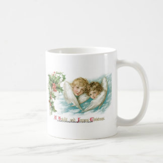 Two Victorian Children as Angels Coffee Mug