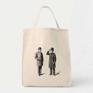 Two victorian gentlemen bags