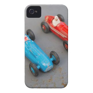 Two vintage toy cars iPhone 4 cover