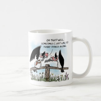 Two Vultures and a Gun Coffee Mug