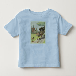 Two-wheel Horse Cart in the French Countryside Toddler T-Shirt