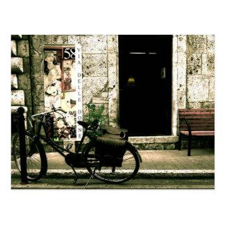 Two Wheeler Nostalgia Bike Postcard
