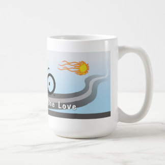 Two Wheels One Love Coffee Mug
