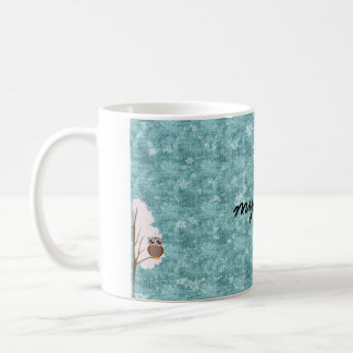 two winter owls- my mug