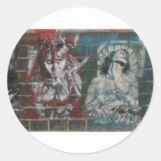 Two women stickers