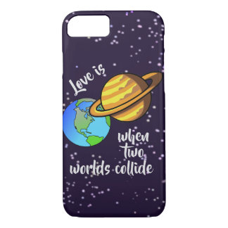 Two Worlds Collide iPhone 8/7 Case
