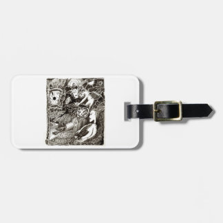 Two Worlds Luggage Tag
