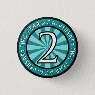 Two Year Aca-Versary Collectible Pin