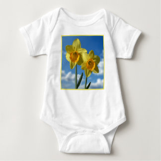 Two yellow Daffodils 2.2 Baby Bodysuit
