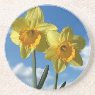 Two yellow Daffodils 2.2 Coaster