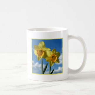 Two yellow Daffodils 2.2 Coffee Mug