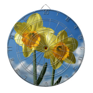 Two yellow Daffodils 2.2 Dartboard