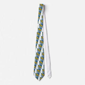 Two yellow Daffodils 2.2 Tie