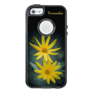 Two yellow flowers of Jerusalem artichoke OtterBox iPhone 5/5s/SE Case