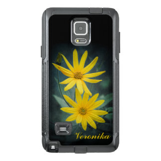 Two yellow flowers of Jerusalem artichoke OtterBox Samsung Note 4 Case