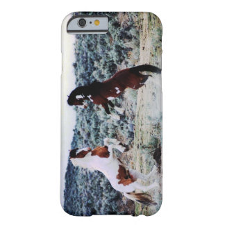 Two Young Horses Playing Barely There iPhone 6 Case