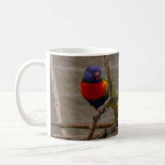 Two zoo birds. Love one another, John 15:12 Coffee Mug