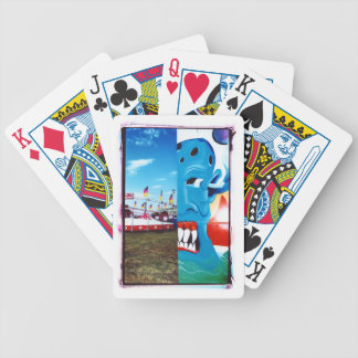 TwoFace Fair Photo Bicycle Playing Cards
