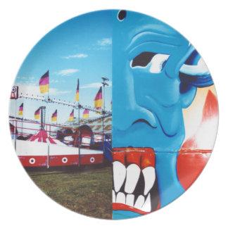 TwoFace Fair Photo Plate