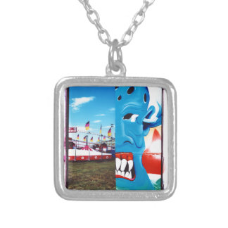 TwoFace Fair Photo Silver Plated Necklace