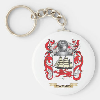 Twomey Family Crest (Coat of Arms) Key Chains