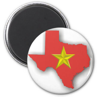 TX a Red State Refrigerator Magnet