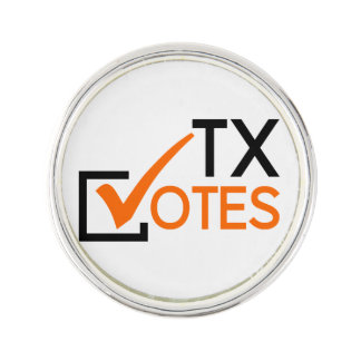 TX Votes Lapel Pin