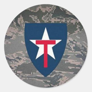 TXSG ABU Pattern Sticker